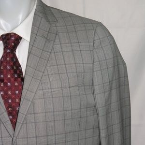 Gucci Monaco Two Button Flat Front Suit 40R NWOT